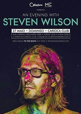 Steven Wilson no Brasil! Compre seu ingresso agora!